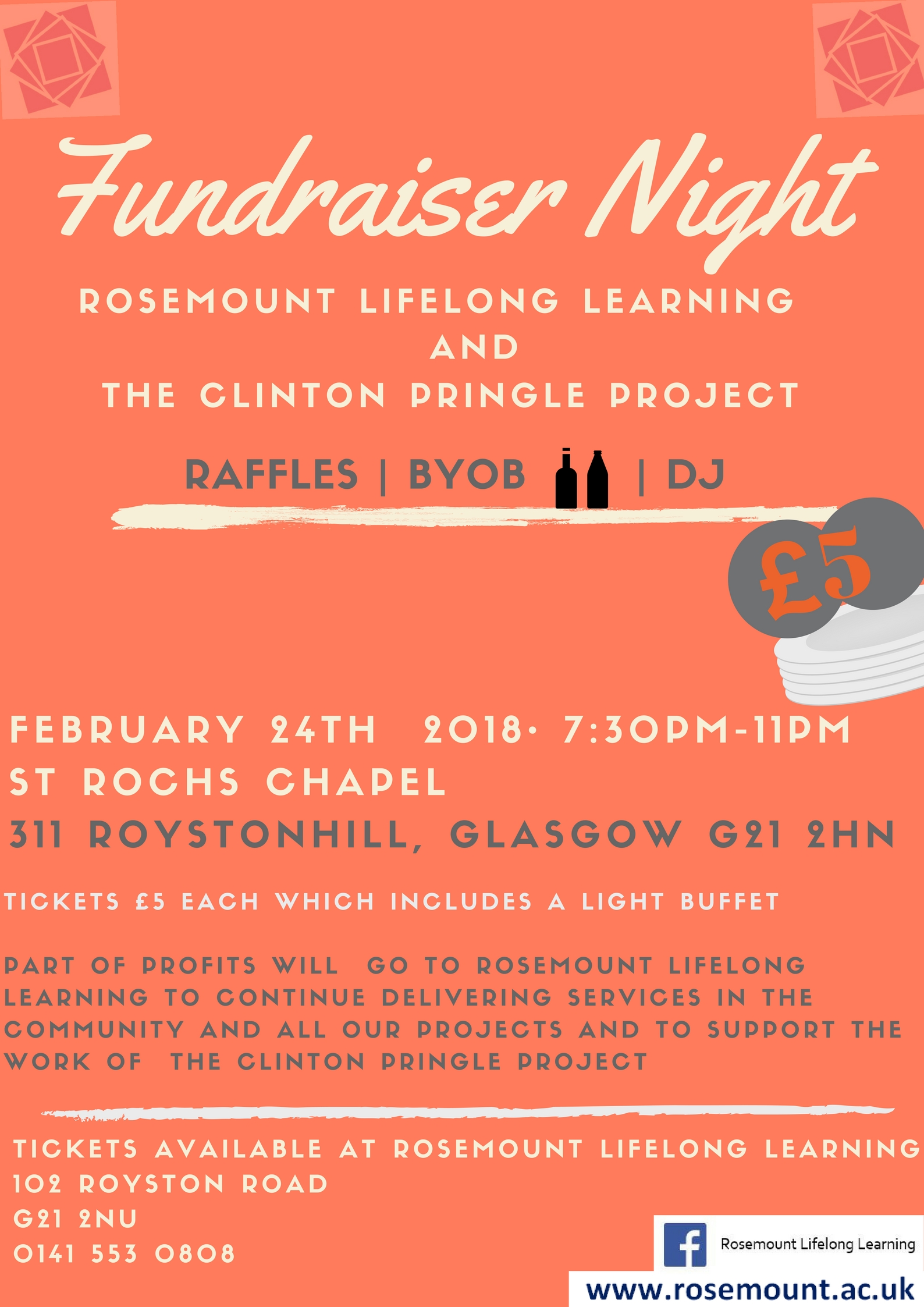 RLL AND CP FUNDRAISER NIGHT